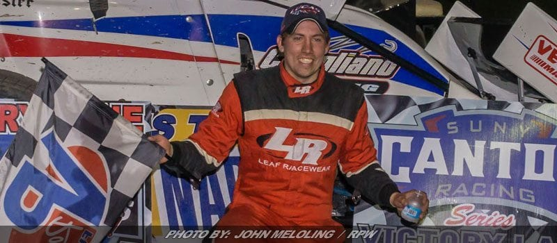 Varin Works By Barney For Empire Super Sprint Victory At Utica-Rome