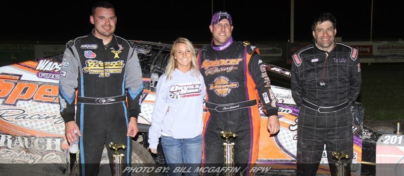 Chad Edwards Takes King Of Dirt Sportsman Series Opener