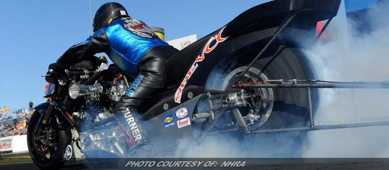 Mickey Thompson Tires To Sponsor NHRA's Top Fuel Harley Series