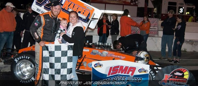 Trent Stephens Captures ISMA Supermodified Win At Lancaster
