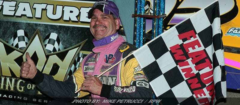 Kenny Martin Takes King Of Dirt Pro Stock Series Opener At Malta
