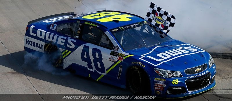Johnson Sets Milestone With NASCAR Cup Series Win At Dover