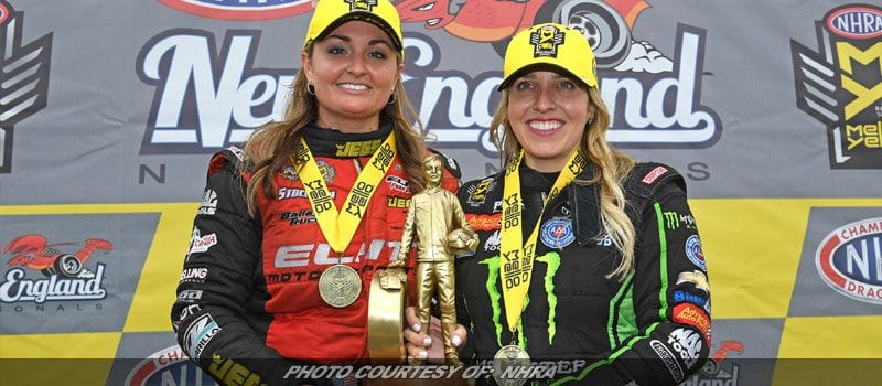 Brittany Force Leads Winners At NHRA's New England Nationals