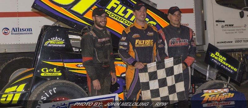 Howland Bags Second Patriot Sprint Tour Win Of 2017 At Fulton
