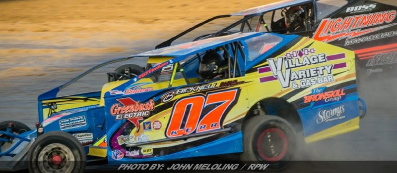 Tim Kerr Rebounds For Top-10 At Fulton Speedway Saturday