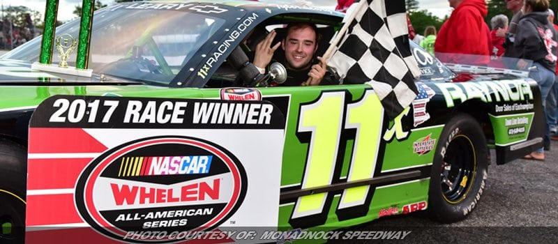 Leary Hits The Hat Trick At Monadnock