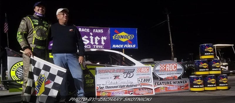 Emerling Runs To First RoC Victory Of 2017 At Spencer