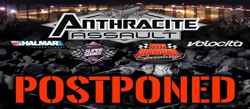 Short Track Super Series' Anthracite Assault Postponed To July 16