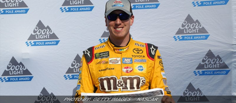 Kyle Busch Wins Pocono Cup Pole With Monster Lap
