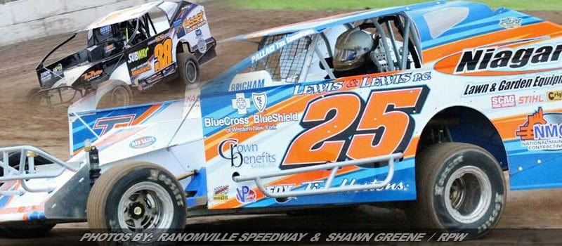 Susice & Rudolph Take Home Modified Wins Friday At Ransomville