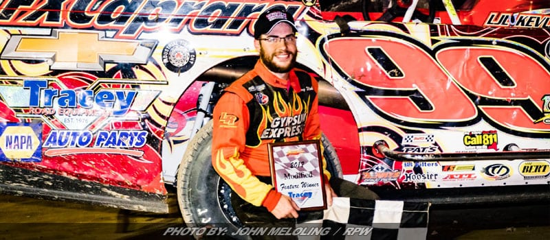 Larry Wight Gets It Done At Fulton Speedway