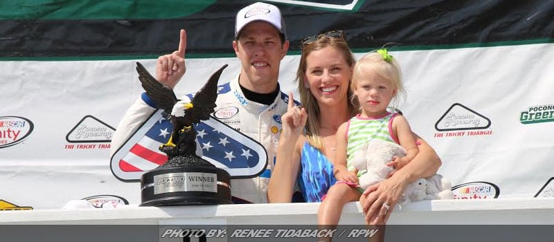 Keselowski Ends #22's Drought With Last-Lap Pass For XFINITY Pocono Win
