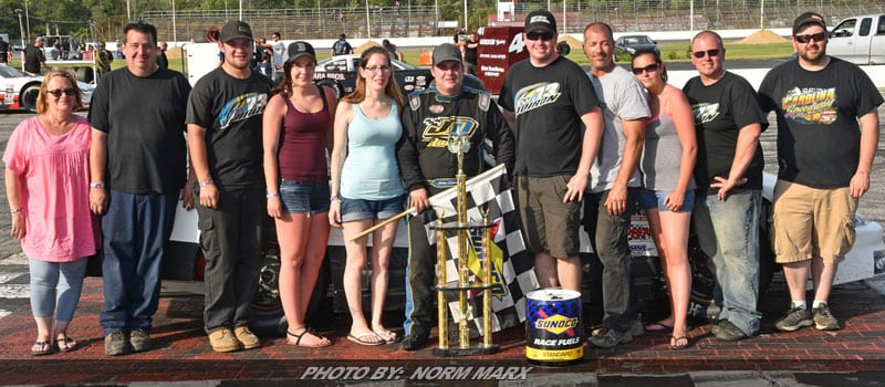 Doiron Caps Off Fabulous Weekend With PASS Win At Oxford Plains