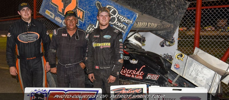 Rick Wilson Wins First Patriot Sprint Tour Race In 11 Years