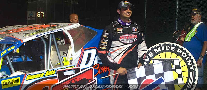 Sheppard Outduels Hearn For Super DIRTcar Series Victory At Five Mile Point