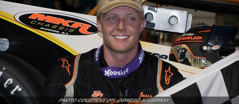 Bearup Holds Off Doyle For First Career Small Block Super Win At Oswego