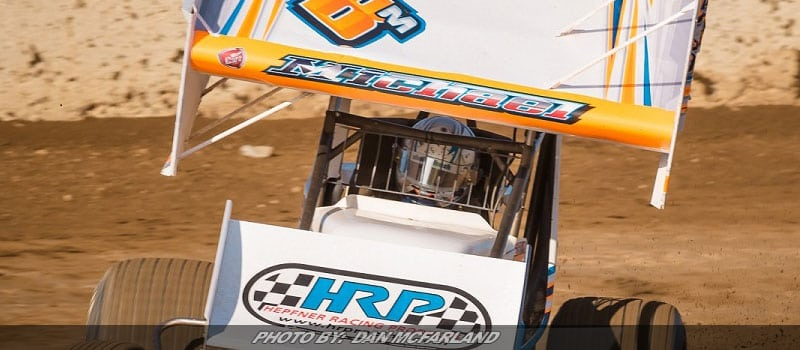 Michael Earns Two Dash Appearances & Top 10 In Midwest Road Trip