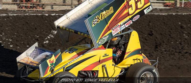 Max Stambaugh Scores Top-Ten At Macon With All Stars