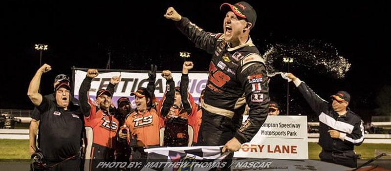 Preece Rolls To Second Whelen Modified Win After Late Pit Stop At Thompson