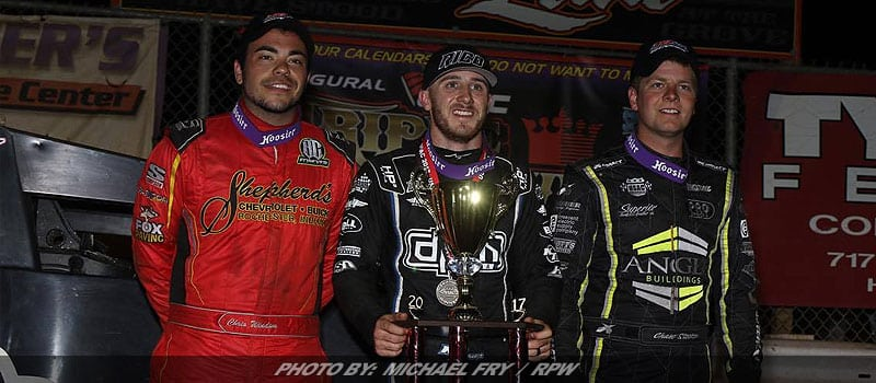 Thomas Turns Back Windom To Win USAC Sprint Return To Williams Grove