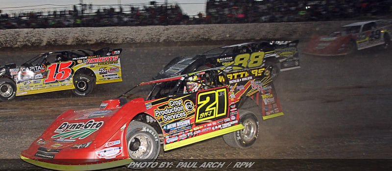 world of outlaws drivers late models