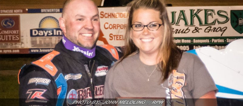Bartlett Finds Victory Lane Friday Night At Brewerton