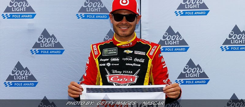 Kyle Larson Edges Martin Truex Jr. For Michigan NASCAR Cup Pole
