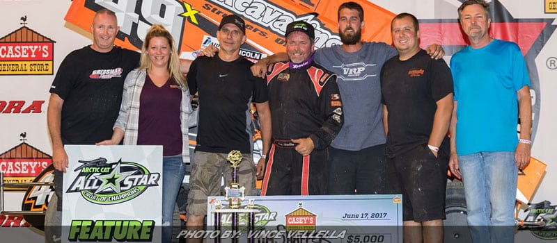 Shaffer Conquers Eldora To Kick-Off Ohio Sprint Speedweek