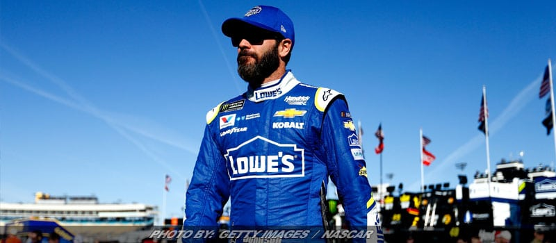 Jimmie Johnson Takes Wild Ride In NASCAR Cup Practice At Michigan