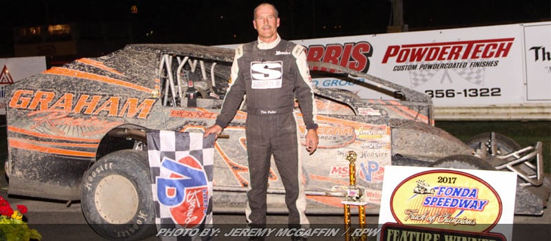 Fuller Notches First Of 2017 At Fonda Speedway