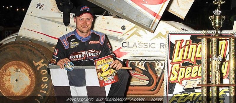 Wolfe Makes Late-Race Pass To Win At Lincoln
