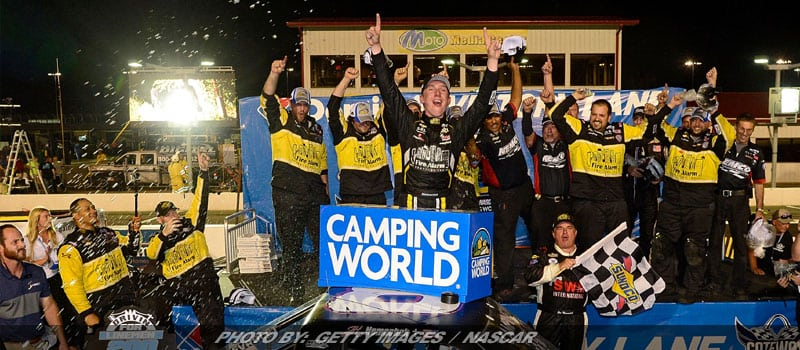 Nemechek Passes Crafton Late For NASCAR Truck Series Win At Gateway