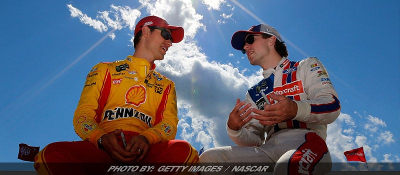 Joey Logano Elated By Third Place Finish Sunday At Michigan