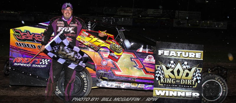 Rocky Dominates For Big King Of Dirt Win At Utica-Rome