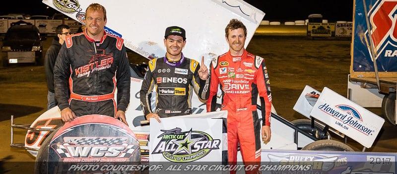 Larson Stays Hot: Wins OH Sprint Speedweek Race At Wayne Co.