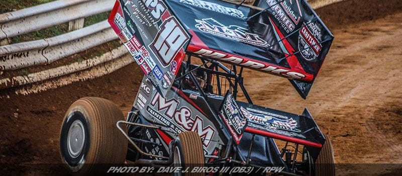 Marks Scores Top 10, Hard Charger Award At River Cities Speedway