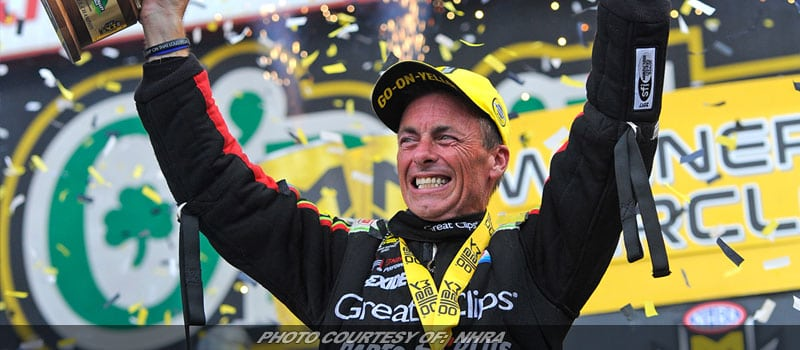 Clay Millican Riding Momentum After First NHRA Top Fuel Win