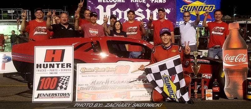 Hirschman Goes Back-To-Back With RoC Win At Jennerstown