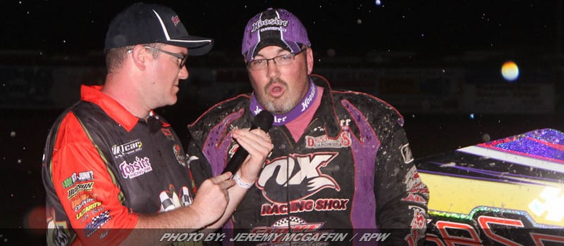 Warner Powers To Third Straight King Of Dirt Win At Utica-Rome