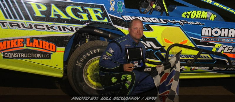 Marcuccilli Battles Past Davis For DIRTcar Sportsman Win At Outlaw