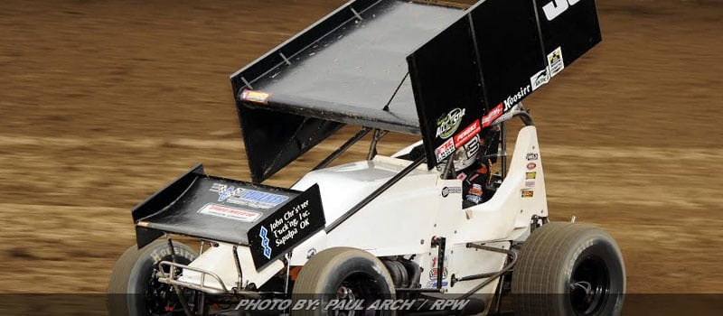 Bayston Goes Wire-To-Wire For All Star Sprint Win At Muskingum Co.