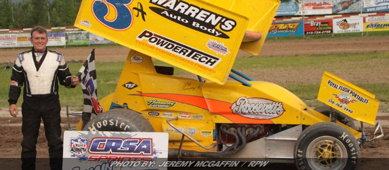 Jeff Trombley Rallies Late For Utica-Rome CRSA Victory