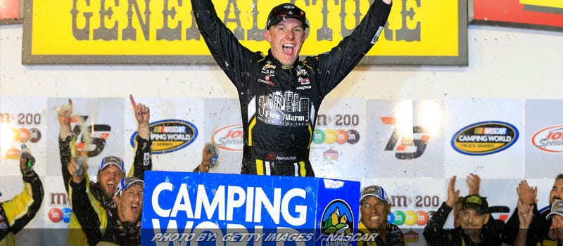 John Hunter Nemechek Goes Back-To-Back With NASCAR Truck Win At Iowa