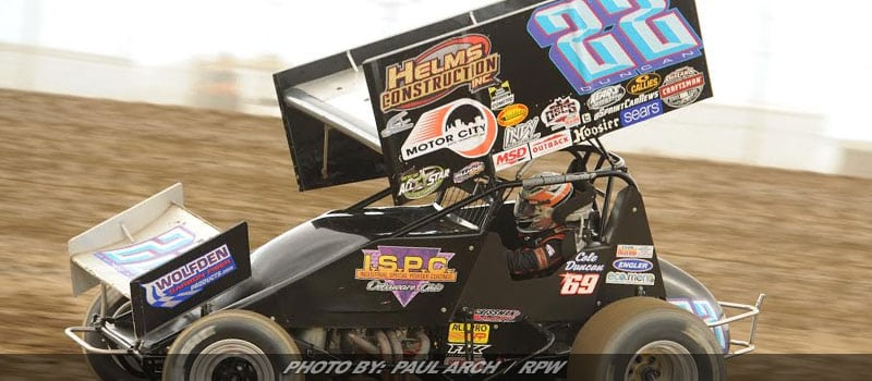 Cole Duncan Earns All Stars Sprint Victory At Atomic Speedway