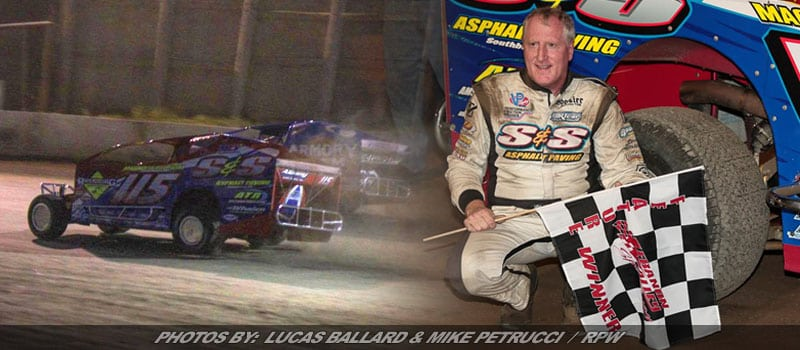 Kenny Tremont Passes Mike King On Final Lap For Lebanon Valley Victory