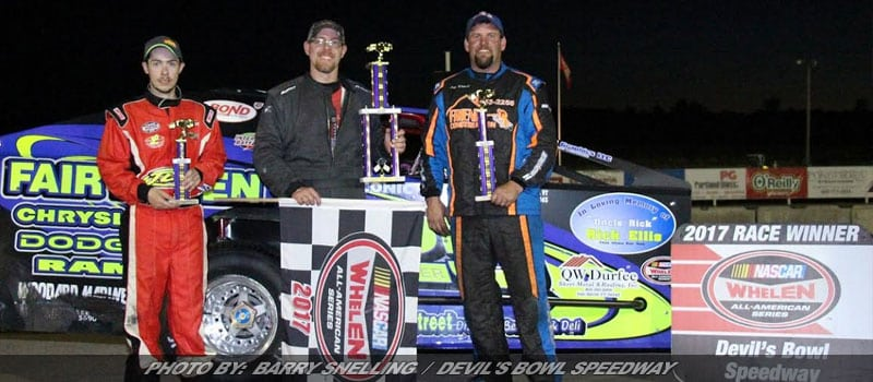 Billy Lussier Takes First Of 2017 At Devil's Bowl Speedway