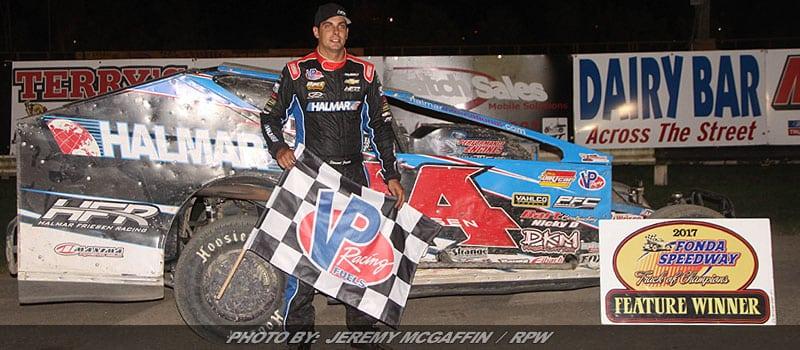 Stewart Friesen Takes Home Fonda Speedway Feature Win