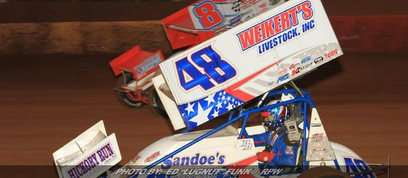 Dietrich's Go One-Two In Lincoln 410 Sprint Car Classic