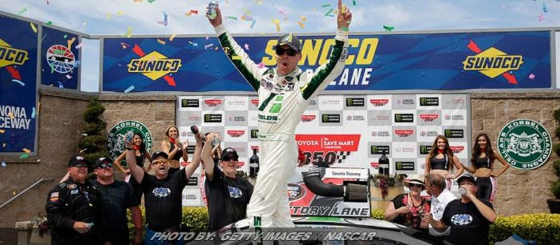 Harvick Holds Off Rodgers For Sonoma NASCAR K&N West Win