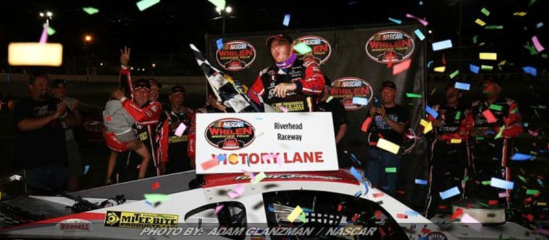 Timmy Solomito Repeats In NASCAR Whelen Mod Event At Riverhead